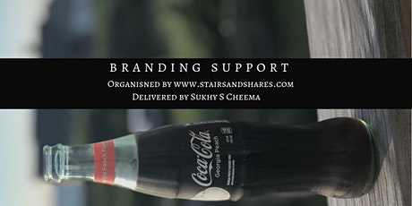 Branding support for Entrepreneurs - Online tickets