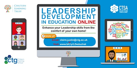 Leadership Development in Education - Online tickets