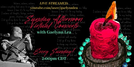Gaelynn Lea LIVE-STREAM Concerts: Sunday Afternoon Performances on  YouTube tickets