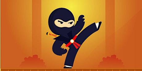 Pintsize Ninja Workout for Kids tickets
