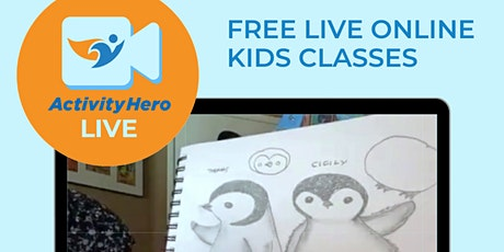 Live online classes for kids - FREE! tickets