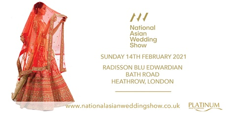 The National Asian Wedding Show Heathrow tickets