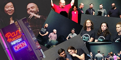 Pan Theater ONLINE Improv Shows - Free tickets nc tickets