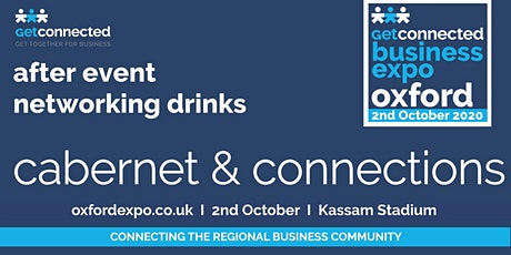 Cabernet & Connections - relaxed after-event networking tickets
