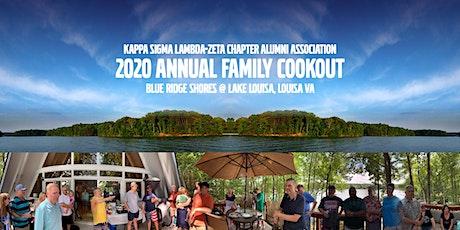 KSLZAA Annual Family CookOut 2020 - Rain or Shine tickets