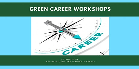 """Green Career Workshop 1.0: """"What's Your Green Career Plan?"""" tickets"""