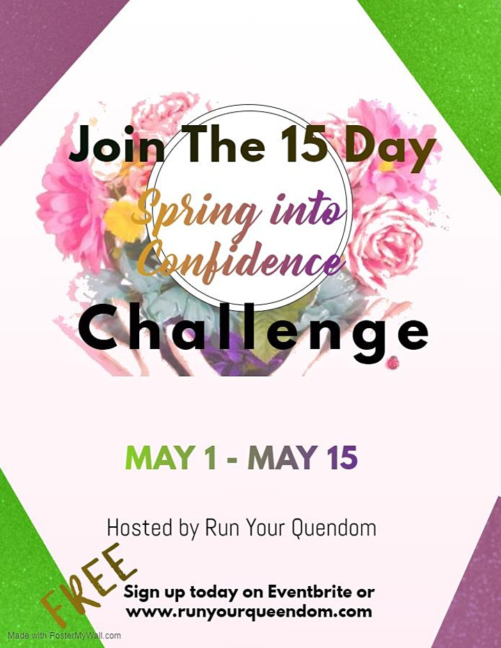 Spring Into Confidence Challenge image