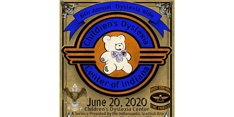 6th Annual Dyslexia Ride for the Children's Dyslexia Center of Indianapolis  tickets