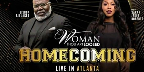 Woman Thou Art Loosed!2020 Atlanta,GA T.D.Jakes tickets