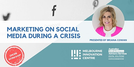 BRP: Marketing on Social Media During A Crisis tickets