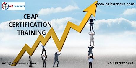 CBAP® Certification Training Course inBridgeport, CT,USA tickets