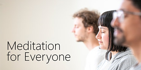 Meditation for Everyone tickets