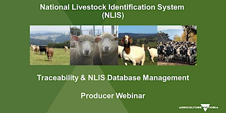 NLIS Database Webinar for Goat Producers tickets