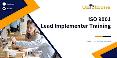 ISO 9001 Lead Implementer Training in Whanganui New Zealand tickets