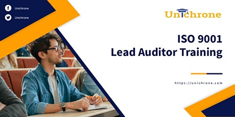 ISO 9001 Lead Auditor Certification Training in Whanganui, New Zealand tickets