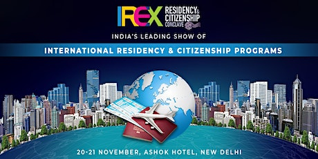 IREX Residency & Citizenship Conclave 2020, New Delhi tickets