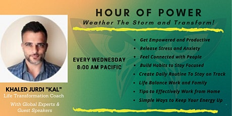 Hour of Power - How to Weather the Storm and Transform During Crises tickets