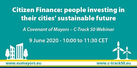 Citizen Finance: people investing in their cities' sustainable future tickets