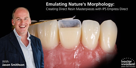 Dr. Jason Smithson: Emulating Nature's Morphology tickets