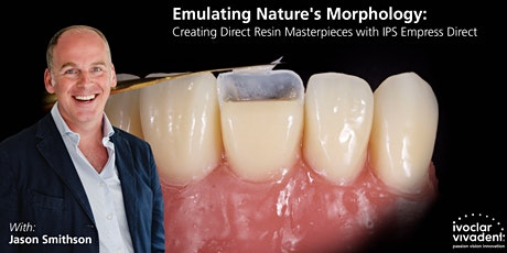 Dr. Jason Smithson: Emulating Nature's Morphology tickets