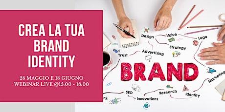 Crea la TUA Brand Identity biglietti