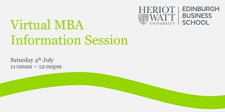 Virtual MBA Information Session tickets
