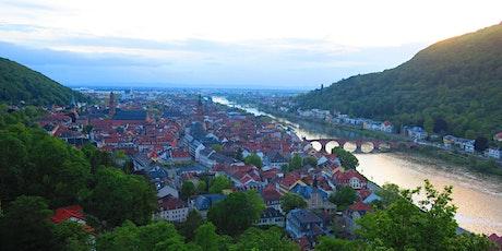 """Sa,11.07.20 Wanderdate """"Heidelberger Single Treff zum Schloss für 50+"""" Tickets"""