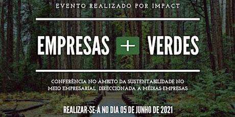 Empresas + Verdes bilhetes