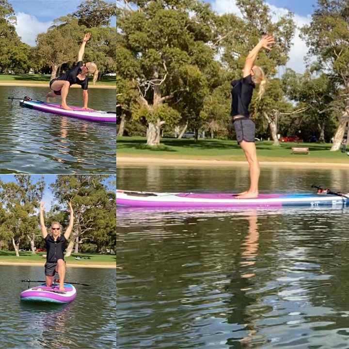 SUP on the Bay .. Suns out, SUP's out image