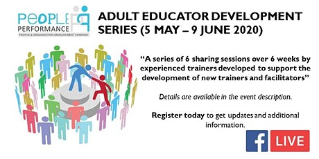 ADULT EDUCATOR DEVELOPMENT SERIES (FACEBOOK LIVE STREAM) tickets
