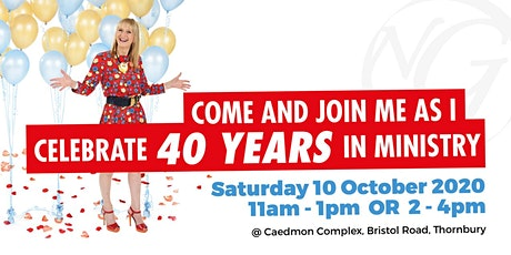 Nancy Goudie Celebrates 40 years in ministry (Event 1) tickets