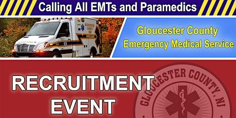 Gloucester County EMS - Recruitment Event tickets