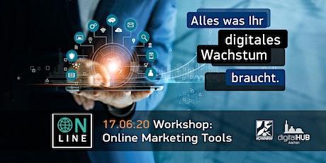 #7: Online Marketing Tools Tickets