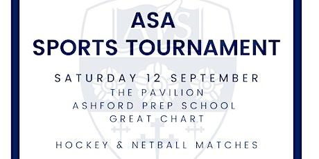 ASA Sports Tournament tickets