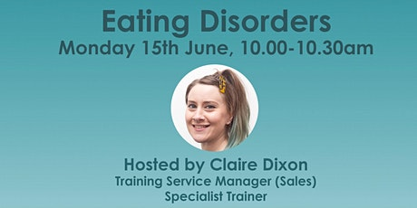 Masterclass Monday: Eating Disorders (taster session) tickets