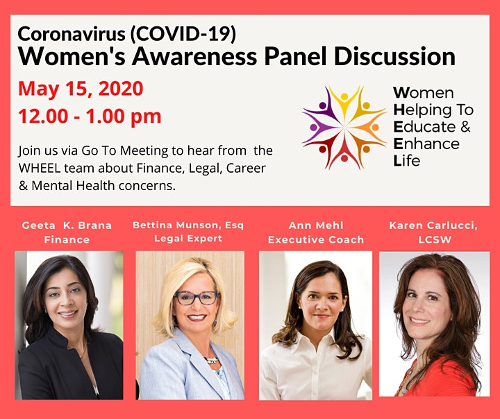 COVID_19: Women's Awareness  Panel Discussion image