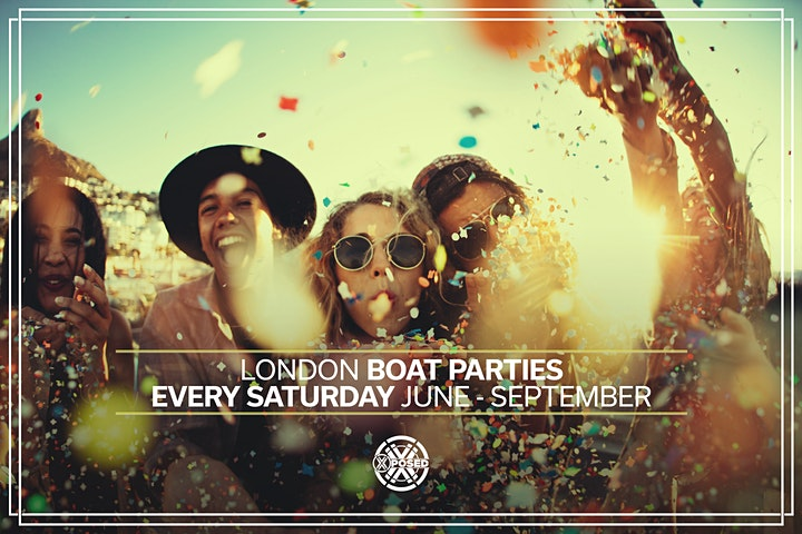 London Boat Party with FREE After Party! image