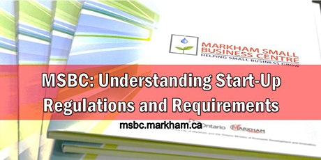 MSBC Group Consult: Understanding Start-Up Regulations and Requirements tickets