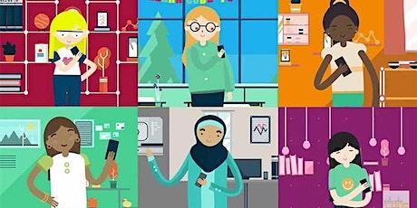 Girls Who Code: Fostering Equity in STEM VIRTUAL Webinar tickets