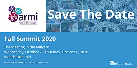 2020 ARMI | BioFabUSA Fall Summit: The Meeting in the Millyard tickets