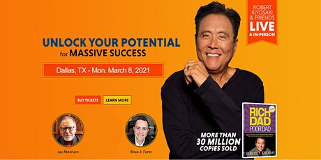 Robert Kiyosaki, Jay Abraham LIVE! Dallas tickets