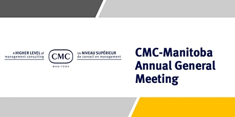 CMC-Manitoba Annual General Meeting tickets