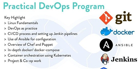 DevOps Lab Cloud Training - Git/Jenkis/Docker/Kubernetes/Ansible/AWS tickets