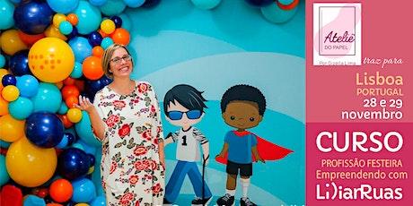 LISBOA tem Lilian Ruas com Profissão Festeira edição 2020 bilhetes