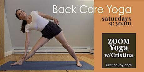 Yoga for Back Care - Livestream tickets