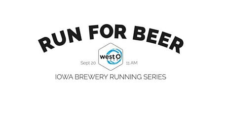 Beer Run - West O Beer | Part of the 2020 Iowa Brewery Running Series tickets