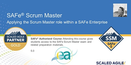 Online Instructor Led - SAFe 5.0 Scrum Master - EST Timezone tickets