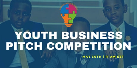 Youth Business Pitch - Virtual Competition tickets