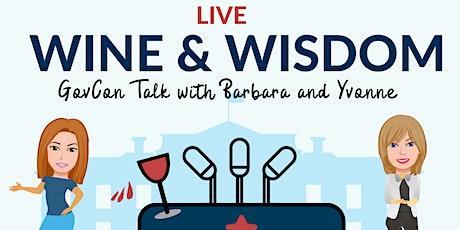Wine & Wisdom: GovCon Talk with Barbara and Yvonne tickets
