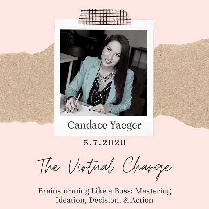 The Virtual Charge: Brainstorming Like A Boss image